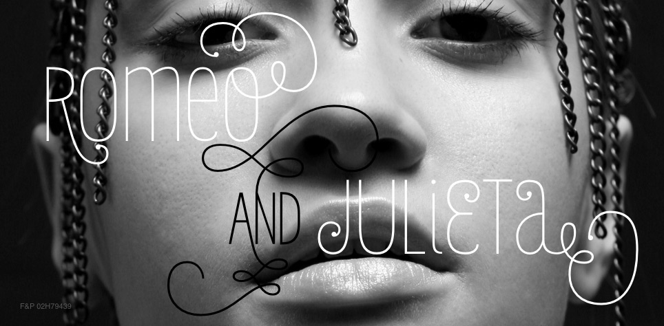 Click here to view the Julieta font family from Latinotype