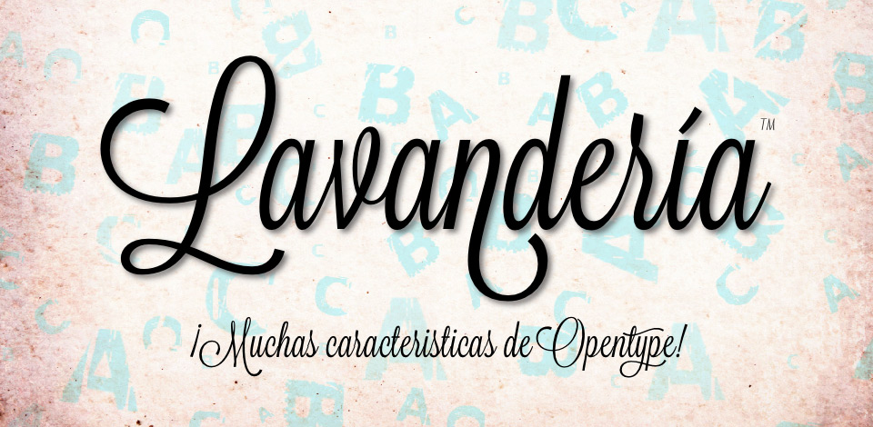 Click here to view the Lavanderia font family from James Edmondson