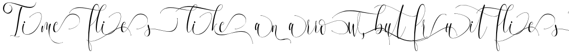 Melamar Calligraphy Alternate