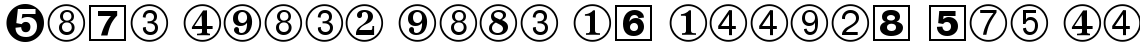 Zapf Dingbats No. 3 Regular