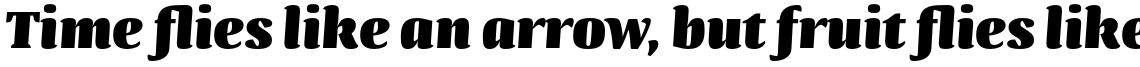 Quador Display UltraBold Italic