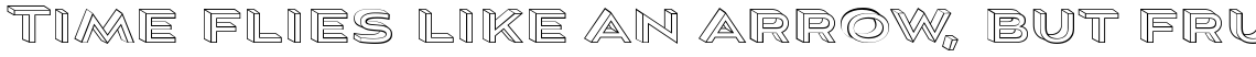Aviano Sans Layers 3-D Wireframe