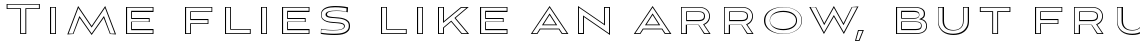 Aviano Sans Layers Outline Thin