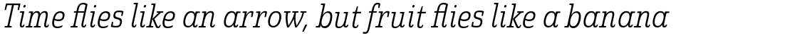 Quatie Condensed Light Italic