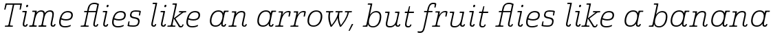 Quatie Normal Thin Italic