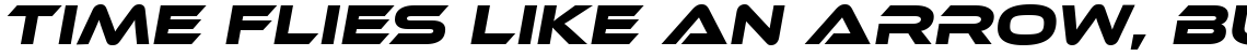 Ethnocentric Regular Italic (Personal License)