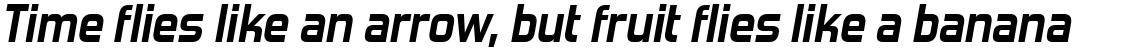 Forgotten Futurist Bold Italic (Commercial License)