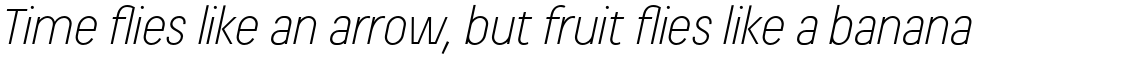 Beauchef Light Italic