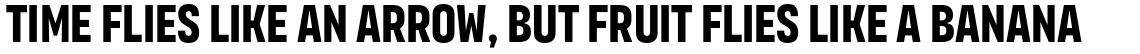 Organetto Ultra Condensed Bold