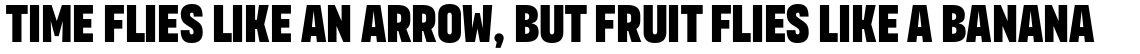 Organetto Ultra Condensed Ultrabold