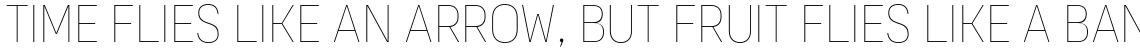 Organetto Condensed Hair