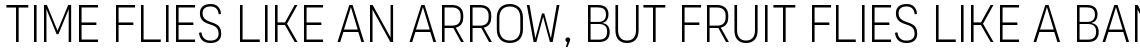 Organetto Condensed UltraLight