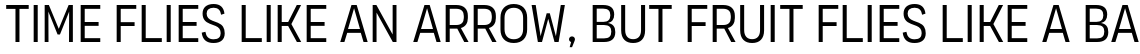 Organetto Condensed Light