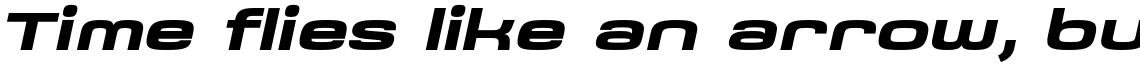 Saturn Extended Bold Italic