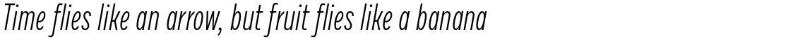 Draft H Light Italic
