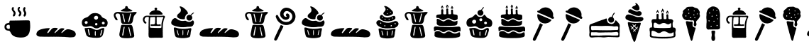 Zing Goodies Bakery Icons