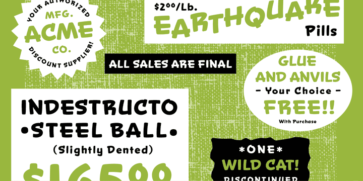 Snicker Bold Fonts