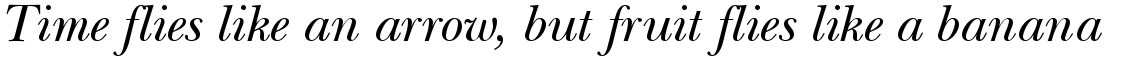 ITC New Baskerville Italic