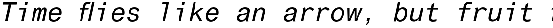 Arial Std Monospaced Oblique