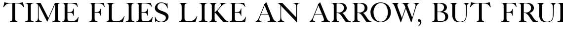 Caslon Titling Std Regular
