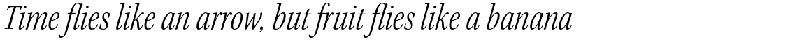 Kepler Std Light Condensed Italic Subhead