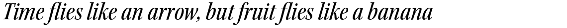 Kepler Std Medium Condensed Italic Subhead