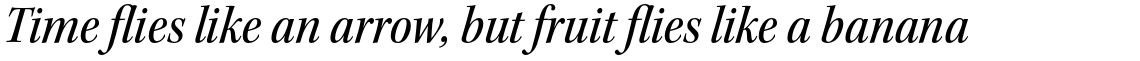 Kepler Std Medium Semi Condensed Italic Subhead