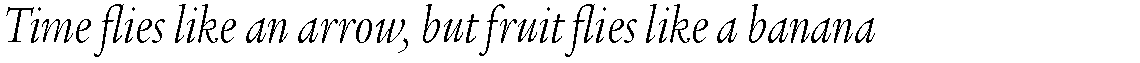 ITC Legacy Serif Std Light Condensed Italic