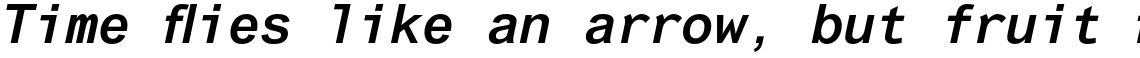 Arial Pro Monospaced Bold Oblique