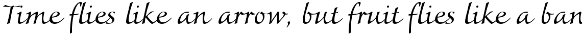 Colombine Regular Ligatures