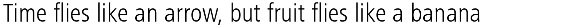 Frutiger Next Pro Condensed Light