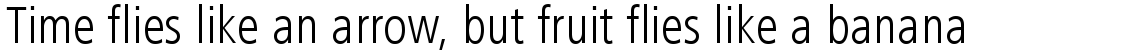 Frutiger Next Condensed Light