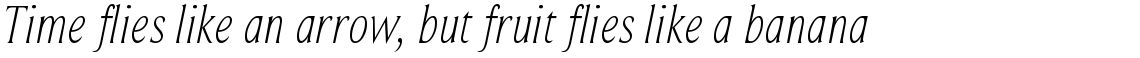 Beaufort Condensed Light Italic
