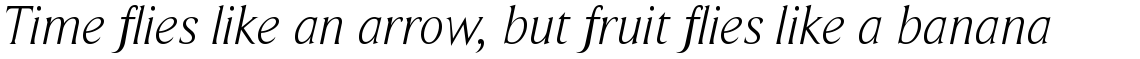 Beaufort Light Italic