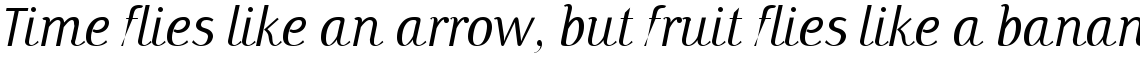 Papas Light Italic